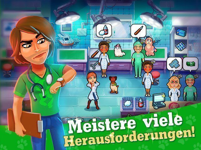 Screenshot  «Dr. Cares: Pet Rescue 911. Sammleredition» № 2
