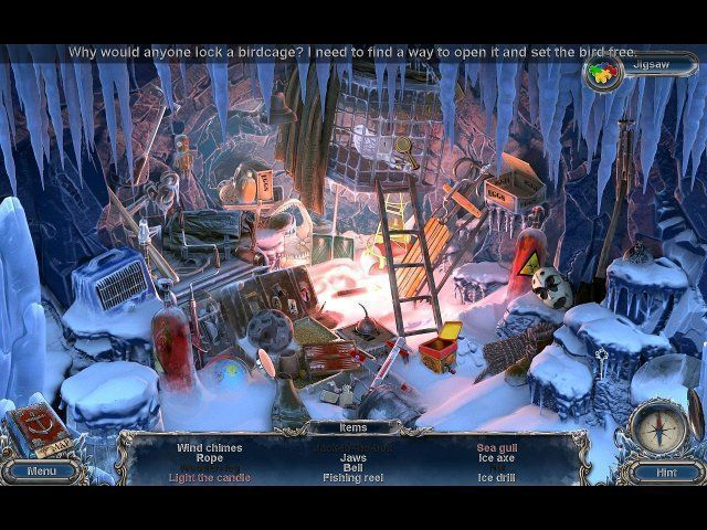 Screenshot  «Mystery Expedition: Gefangene im Eis» № 3