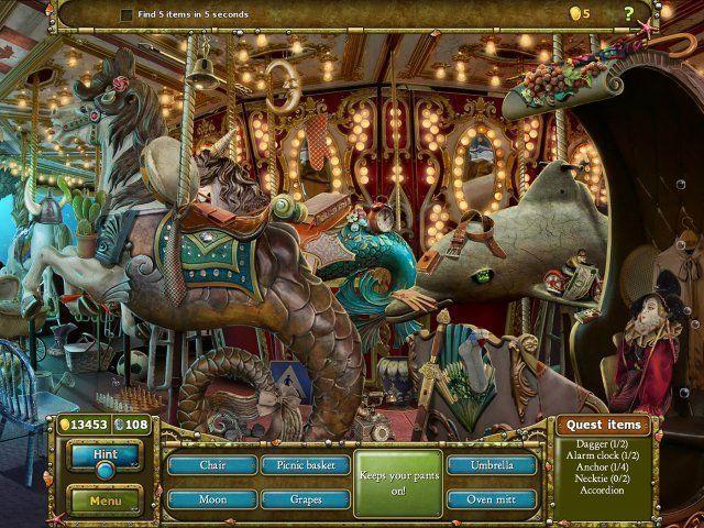 Screenshot  «Tales of Lagoona 3: Fehden, Fälschungen, und Fischstäbchen» № 1