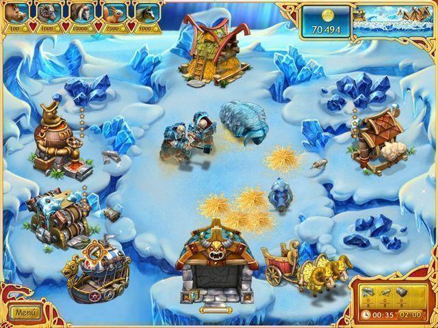 Farm Frenzy: Viking Heroes en Español game