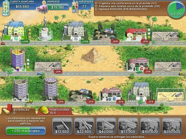 Hotel Mogul en Español game
