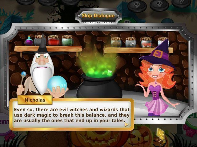 Secrets of Magic: The Book of Spells en Español game
