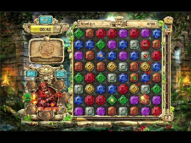 The Treasures of Montezuma 4 en Español game