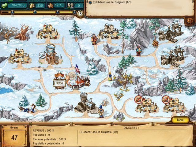 The Golden Years: Way Out West jeu