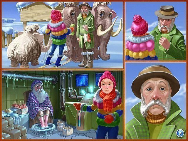 Скриншот к мини игре Веселая ферма 3. Ледниковый период. главная мини игры