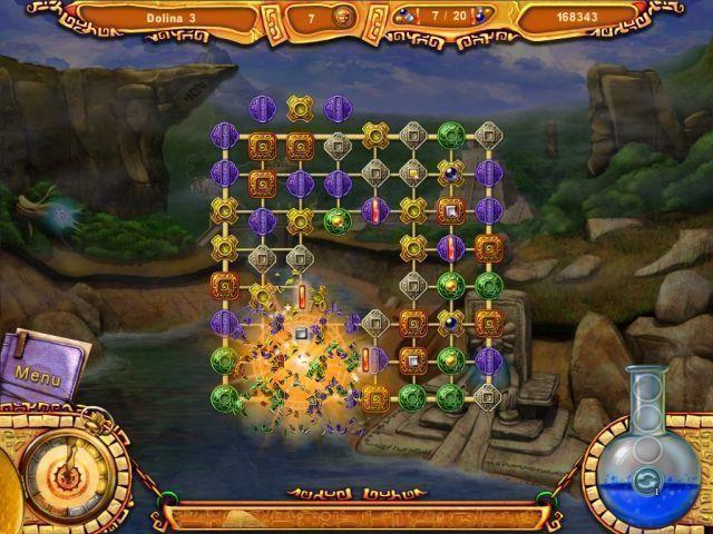 Скриншот 5 к игре Проклятие Монтесумы.