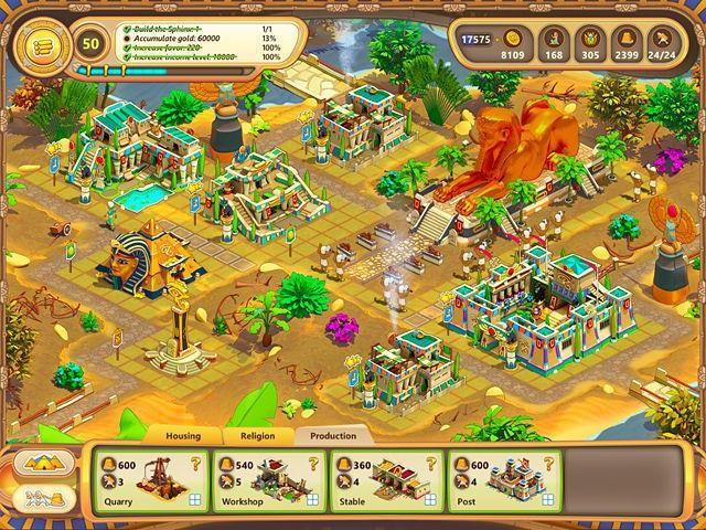 Ramses: Rise of Empire Gra Bezpłatne